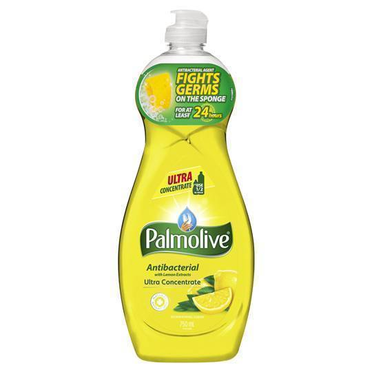 Palmolive Dishwashing Liquid Antibacterial With Lemon