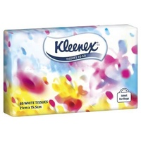 Kleenex Facial Tissues Soft Pack 60's
