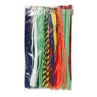 Jasart Pipe Cleaners Assorted 30cm Pack of 200