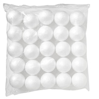 Jasart Polystyrene Balls 75mm Pack of 25
