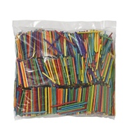 Jasart Matchsticks Assorted Colours Pack of 4000