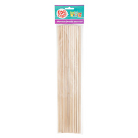 Educraft Wooden Dowels Pack of 20