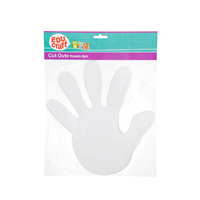 Educraft Hand Cut Outs Pack of 8