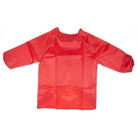 Educraft Long Sleeve Smock Red