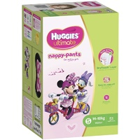 Huggies Nappy Pants Walker Girl (14 - 18KG) 51's