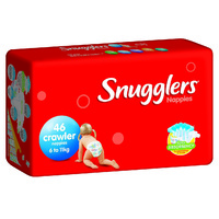 Snugglers Nappies Crawler 6 - 11KG 4 x 46's (184)