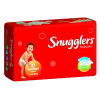 Snugglers Nappies Walker 13 - 18KG 4 x 37's (148)