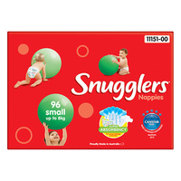 Snugglers Nappies Small 0 - 8KG 96's