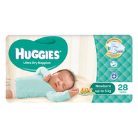 Huggies Newborn 28's