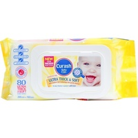 Curash Wipes Ultra Thick & Soft 80's