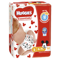 Huggies Essentials Crawler 6 - 11kg 52's