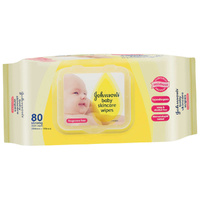 Johnson's Baby Skincare Wipes 80's
