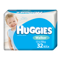 Huggies Walker Boy 32's