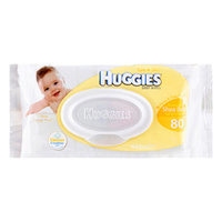 Huggies Wipes Scented Shea Butter Refill 80's