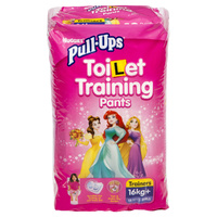 Huggies Pull-Ups Girls Size 4 (16+KG) 12's