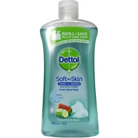 Dettol Foam Hand Wash Refill Cucumber & Melon 500mL