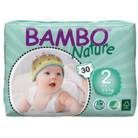 Bambo Nature Mini 3 - 6KG 30's Size 2