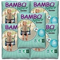 Bambo Nature Pants 12-20kg Carton 5 x 20's (100) Size 5