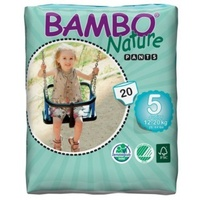 Bambo Nature Pants 12 - 20KG 20's Size 5