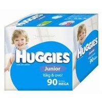 Huggies Junior Boy 16+KG 90's