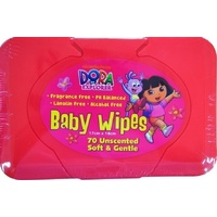 Dora The Explorer Baby Wipes Tub 70's