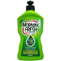 Morning Fresh Dishwashing Liquid Lime Fresh with Baking Soda 450mL