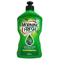 Morning Fresh Dishwashing Liquid Spring Fresh 450mL