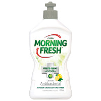 Morning Fresh Diswashing Liquid Antibacterial Lemon 400ml
