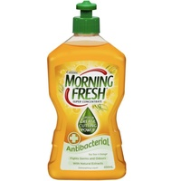 Morning Fresh Dishwashing Liquid Antibacterial Tea Tree & Orange 450mL