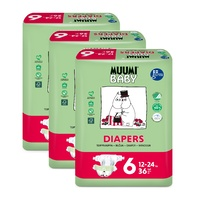 Muumi Nappies Junior 12 - 24KG Size 6 Carton 108's
