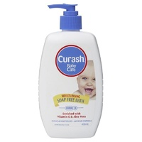 Curash Moisturising Soap Free Bath 400mL