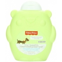 Fisher Price Toddler 3-in-1 Shampoo, Conditioner & Body Wash 360mL
