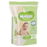 Huggies Wipes Cucumber & Aloe Refill 240's