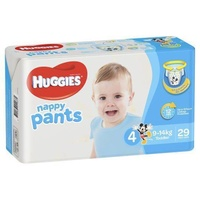 Huggies Nappy Pants Boy 29's (9-14kg)