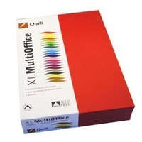 A4 Colour Copy Paper 80 GSM Red 500's