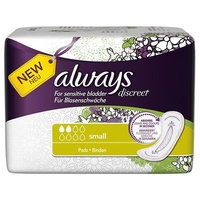 Always Discreet Small Pads 20's