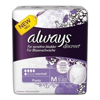 Always Discreet Incontinence Pants Medium 12's