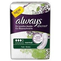 Always Discreet Normal Pads 12's
