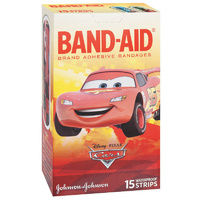 Band-Aid Character Strips Cars 15's