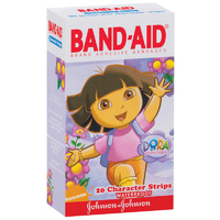 Band-Aid Character Strips Dora 20's