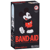 Band-Aid Character Strips Mickey Mouse 15's