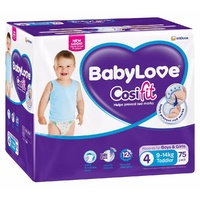Baby Love Toddler 9 - 14KG 75's