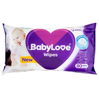 Baby Love Wipes 80's