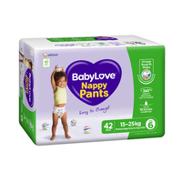 Baby Love Nappy Pants Junior 15 - 25KG 2 x 42's