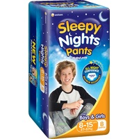 Baby Love SleepyNights Pants 8-15 Years (27-57KG) 8's