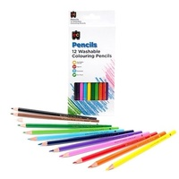 Pencil Washable Colouring Pack of 12