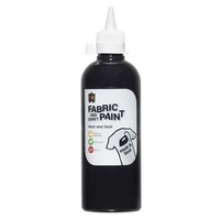 Fabric & Craft Paint Black 500mL