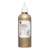 Fabric & Craft Paint Gold 500mL