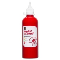 Fabric & Craft Paint Red 500mL