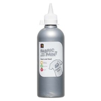 Fabric & Craft Paint Silver 500mL